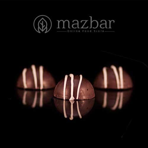حلوای شکلات تلخ-فندق