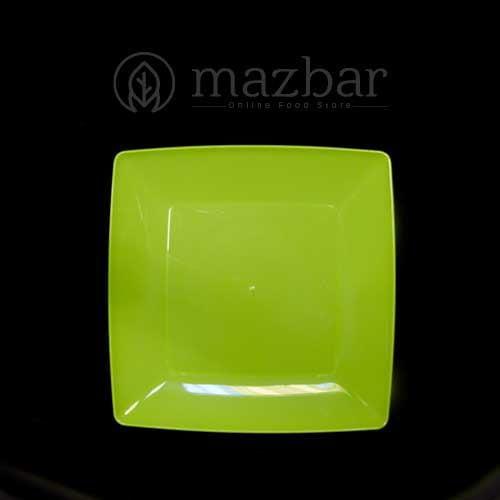 بشقاب-چهارگوش-سبز