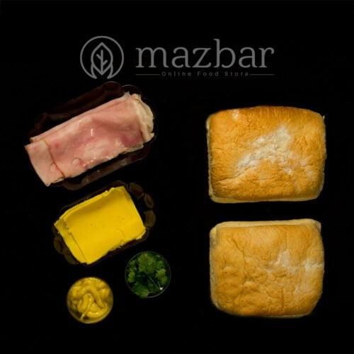 ساندویچ-چاپاتا-بوقلمون-خردل-نیمه-آماده-2عددی