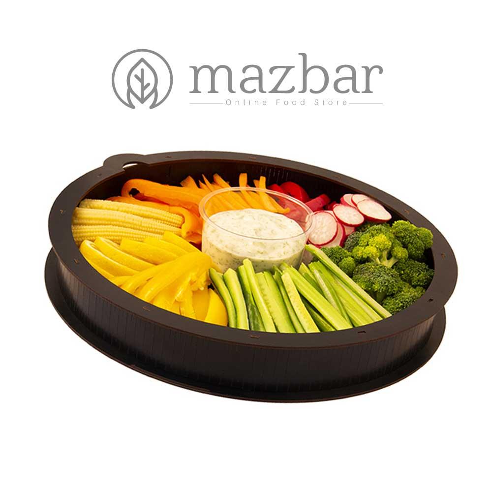 سینی-سبزیجات